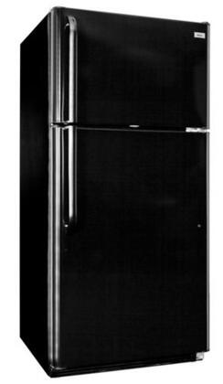 "Haier HT18TS45SB Freestanding Full Size 18.2 cu. ft. No 29.63"" Top Freezer Refrigerator 