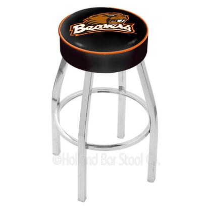 Holland Bar Stool L8C125OREGST Residential Vinyl Upholstered Bar Stool