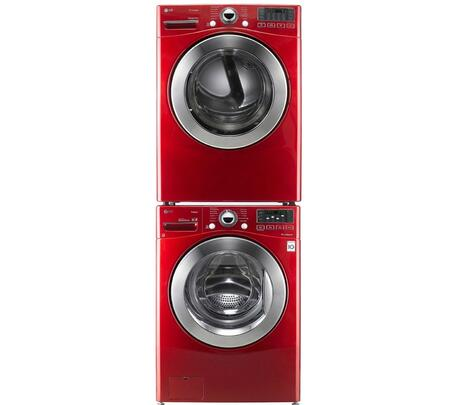 LG WM3070HRASTKPAIR1 Washer and Dryer Combos