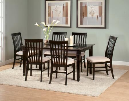 "Atlantic Furniture DECO4278BTDT Deco Series 42x78 Butterfly Top Dining Table (Include the 18"" Leaf):"
