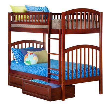 Atlantic Furniture AB64124  Twin Size Bunk Bed