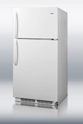 Summit CTR15 Freestanding Top Freezer Refrigerator with 14.3 cu. ft. Total Capacity 2 Wire Shelves