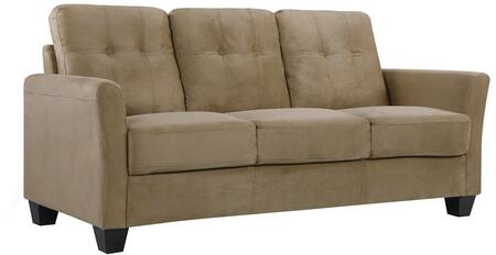 Glory Furniture G567S  Stationary Suede Sofa