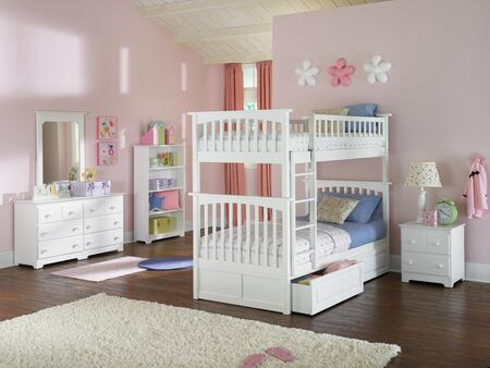 Atlantic Furniture COLTTWH  Twin Size Bed