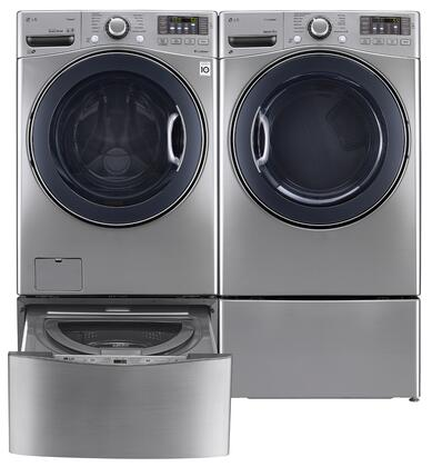 LG LG4PCFL27G2PEDSSKIT6 Washer and Dryer Combos