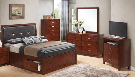 Glory Furniture G1200BQSBDMTV G1200 Bedroom Sets