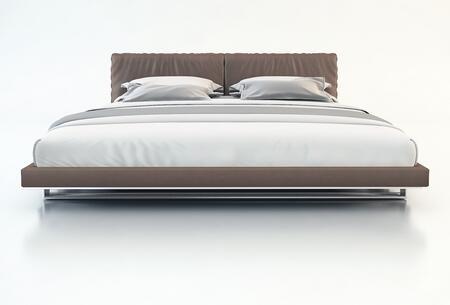 Modloft MD327KPLM Broome Series  King Size Platform Bed