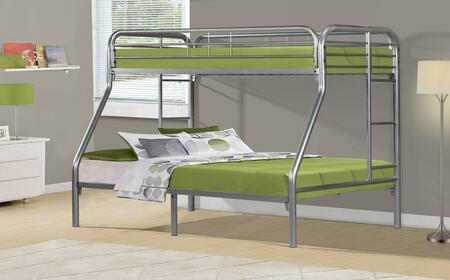 Monarch I2231S  Twin / Full Size Bunk Bed
