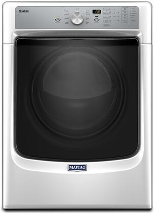 """Maytag MGD5500 27"""" ADA Compliant Front Load Gas Dryer with 7.4 cu. ft. Capacity, PowerDry System, Sanitize Cycle and Rapid Dry Cycle, in"""