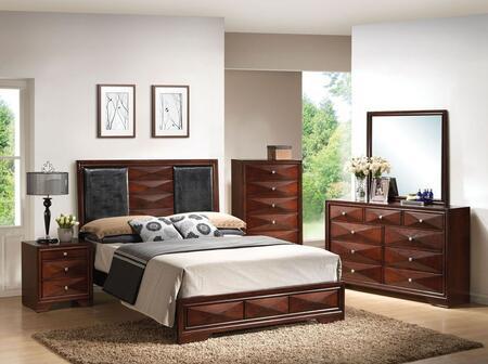 Acme Furniture 21917EK6PCSET Windsor King Bedroom Sets