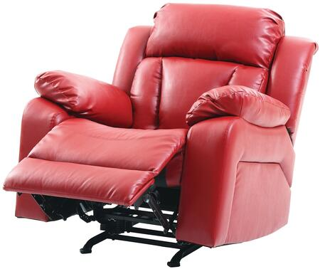 Glory Furniture G684RC G680 Series Faux Leather Metal Frame  Recliners