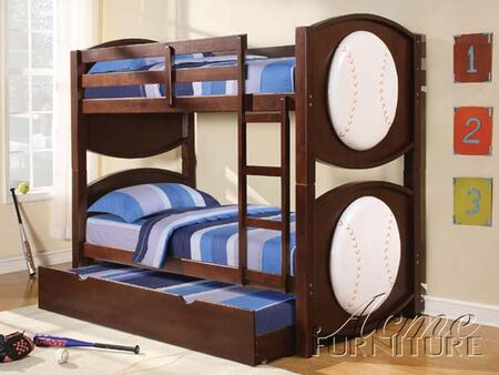 Acme Furniture 11952 All Star Series  Twin Size Bunk Bed