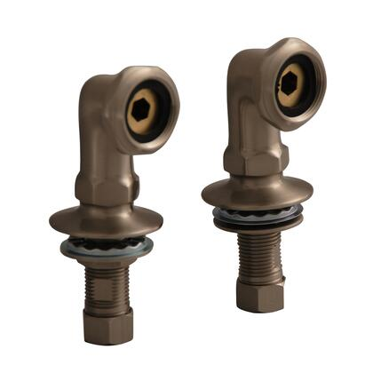 "Barclay 4504 2"" Elbows Pair for Deck Mounting in"