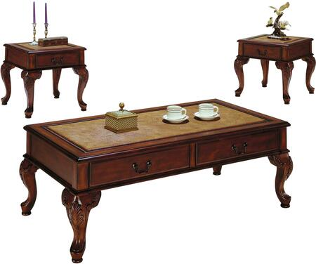 Acme Furniture 09652 Traditional Living Room Table Set