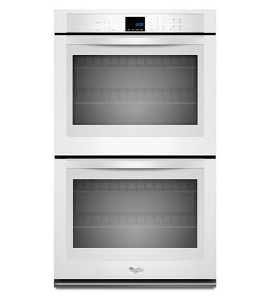 "Whirlpool WOD51EC7AW 27"" Double Wall Oven, in White"