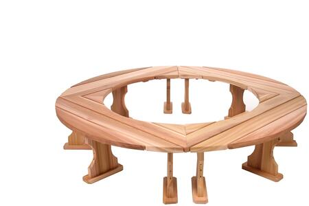 All Things Cedar QR60U-4  Patio Benches