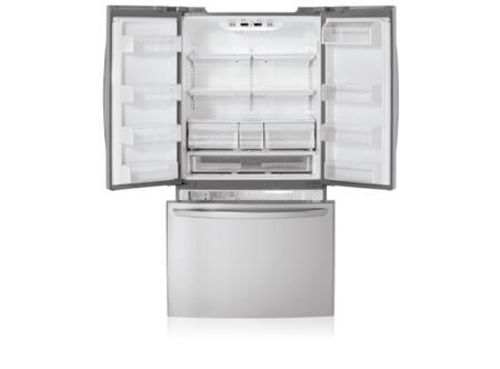 Lg Lfc25770st French Door Refrigerator In Stainless Steel