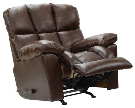 "Catnapper Griffey Collection 46"" Recliner with Extra Wide Automotive Seating, Tall Rounded Back, Heavy Weight Padded and Valentino Bonded Leather Upholstery"