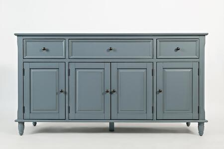 "Jofran Avignon Collection 390X-60 60"" Accent Console with three Drawers, Three Cabinets and Four Doors in XX"
