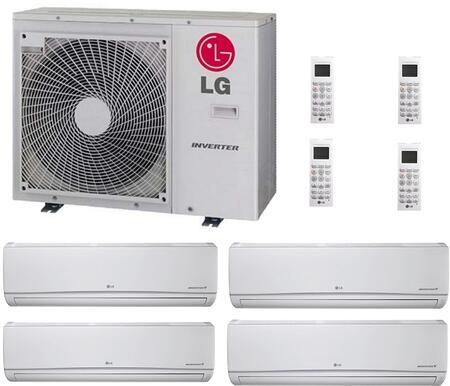 LG 706642 Quad-Zone Mini Split Air Conditioners