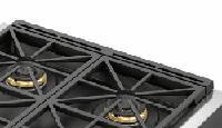 Fulgor Milano F6BGxBCI Black Cast Iron Island Trim
