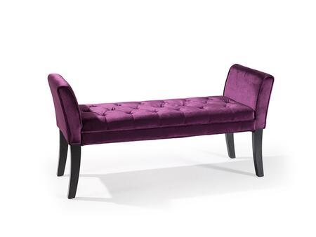 Purple Bench View