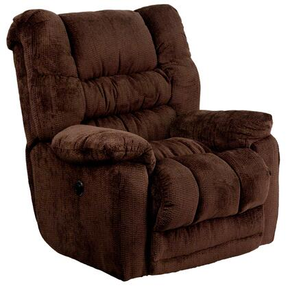 Flash Furniture AM-P9560-XX-GG Contemporary Temptation Microfiber Power Recliner with Push Button