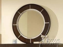 Acme Furniture 19964 Audry Series Round Portrait Dresser Mirror