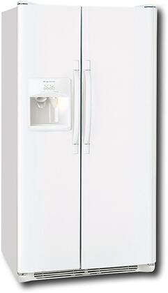 Frigidaire FRS3HR35KW  Side by Side Refrigerator with 22.6 cu. ft. Capacity in White