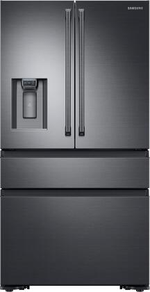 "Samsung RF23M8090S 36"" Counter-Depth French Door Refrigerator with 22.7 cu. ft. Capacity, FlexZone, Exernal Ice and Water Dispenser, and Auto Water Fill, in"