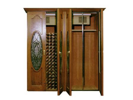 """Vinotemp VINO1400NAPWF 110"""" Wine Cooler"""
