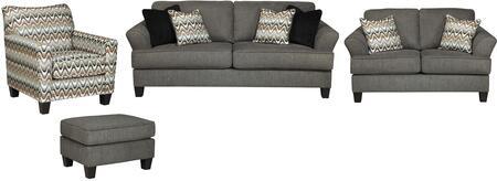 Milo Italia MI8857SLACOSTEE Xzavier Living Room Sets