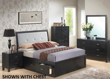 Glory Furniture G1250FQSB2DMN G1250 Queen Bedroom Sets