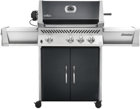 Napoleon P450RBNK9 All Refrigerator Natural Gas Grill with 4 |Appliances Connection