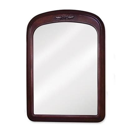 Bath Elements MIR031 Emilia Series Arched Portrait Bathroom Mirror
