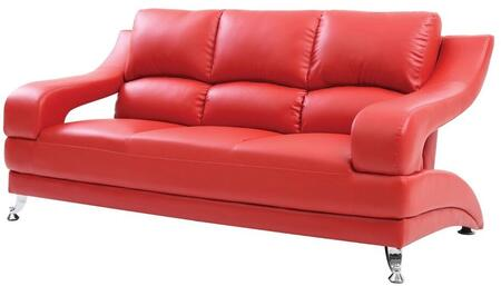 Glory Furniture G249S  Stationary Faux Leather Sofa