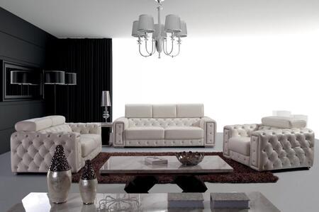 VIG Furniture VGBN3025 Modern Leather Match Living Room Set