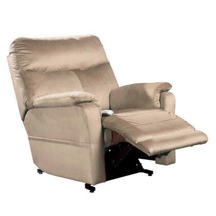 """Mega Motion Cloud NM1750-OXX-A11 38"""" Power Recliner Lift Chair with 3-Position Mechanism, Chaise Pad and Sinuous Spring with Pocket Coil Seat in"""