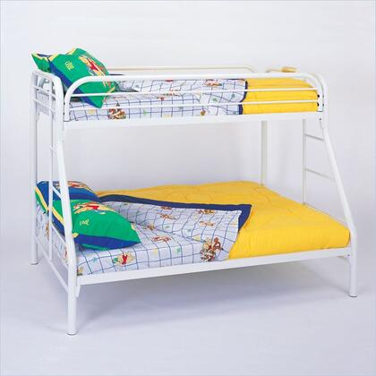 Coaster 2258W Fordham Series  Twin Over Full Size Bunk Bed