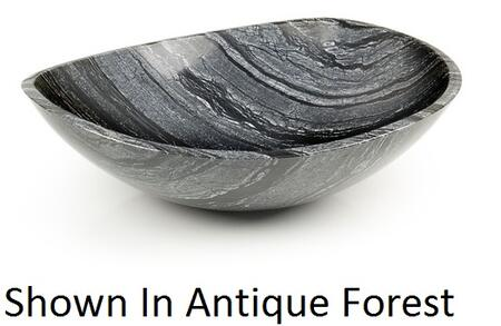 D'Vontz FF4012 Free Form Above Counter Vessel Sink With Natural Stone Construction & In