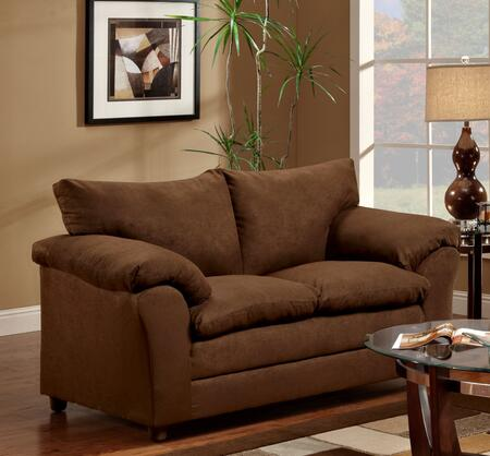 Chelsea Home Furniture 471150L Gail Loveseat with 16 Gauge Border Wire, Sinuous Springing System, Solid Kiln Dried Hardwoods and Engineered Products in