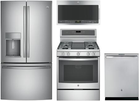 Ge Profile 988627 4 Piece Stainless Steel Kitchen Liances Package