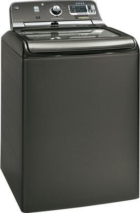 Ge Gtws8655dmc 5 Cu Ft Top Load Washer In Metallic