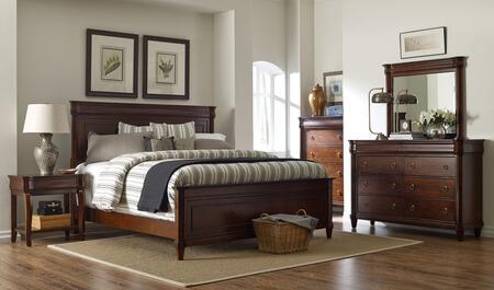 Broyhill 4906QPBNTDM Aryell Queen Bedroom Sets