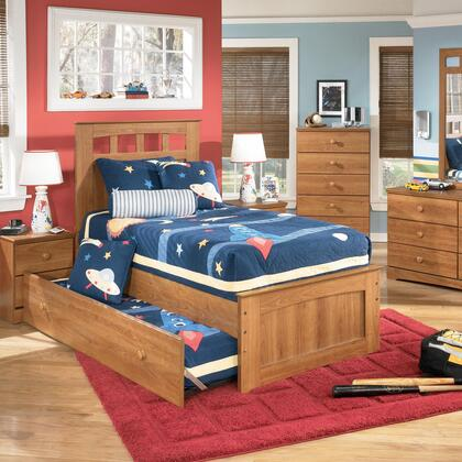Signature Design by Ashley B12752538351B10082 Benjamin Series  Twin Size Panel Bed