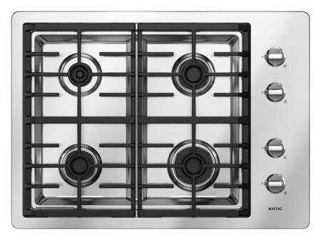 Maytag MGC7430WS  Gas Sealed Burner Style Cooktop