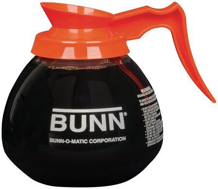 Bunn-O-Matic 424010 Glass Decanter with Orange Handle