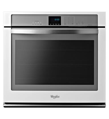 "Whirlpool WOS92EC0AH Oven Only Single Electric 5 cu. ft. Capacity Digital 30"" Yes Wall Oven 