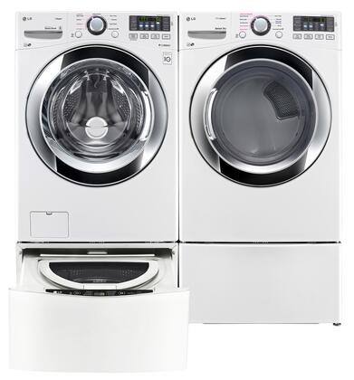 LG LG4PCFL27G2PEDWKIT7 Washer and Dryer Combos