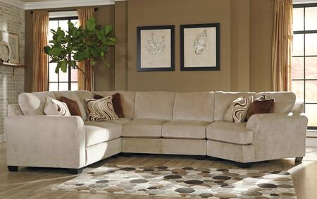 Sectional Sofa with Right Arm Facing Cuddler
